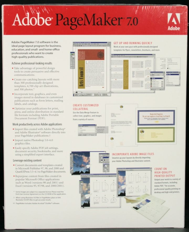 adobe pagemaker 7 windows edition 27530380