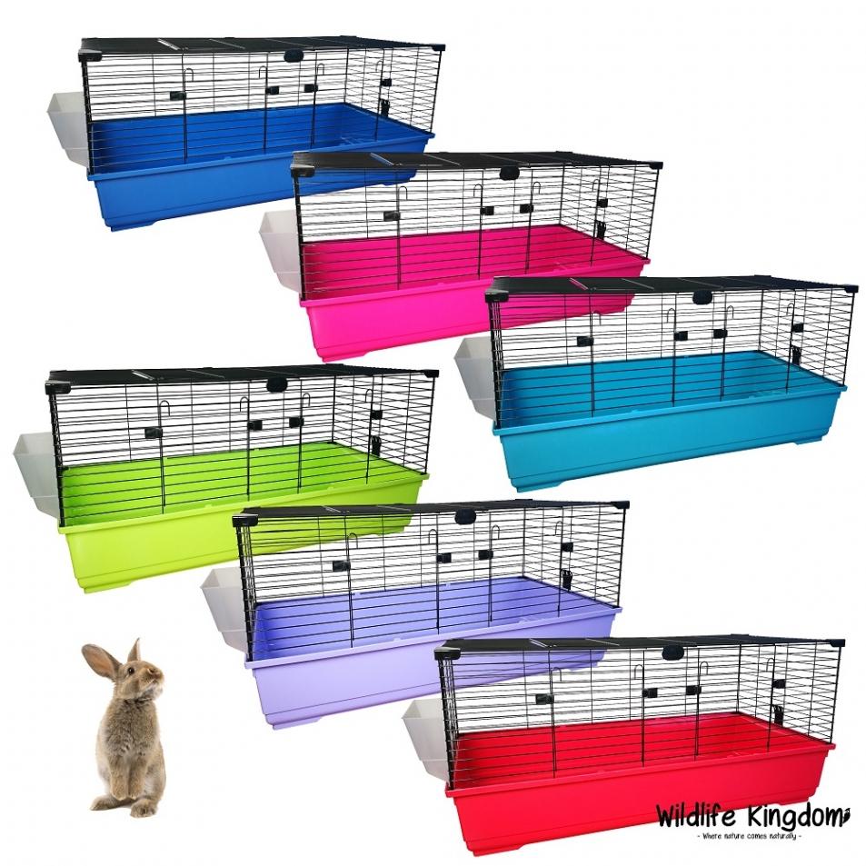 Large indoor rabbit 120cm cage bunny guinea pig small for Large indoor guinea pig cages